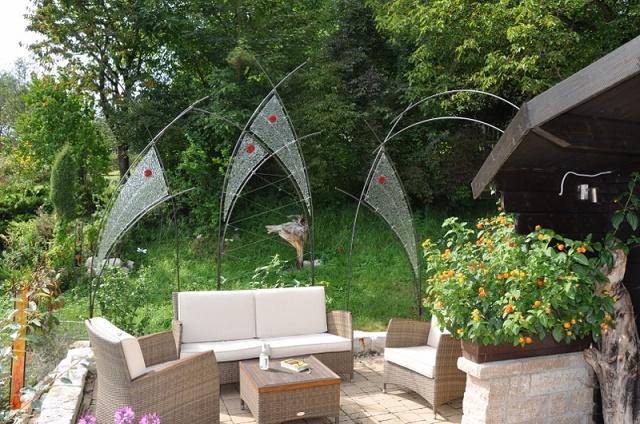 Sichtschutz Terrasse Genehmigung : individuell für ihren Garten oder ...