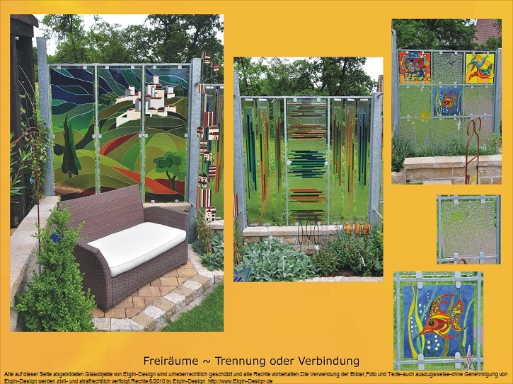glas im garten gartenstele aus glas der glasgarten am. Black Bedroom Furniture Sets. Home Design Ideas
