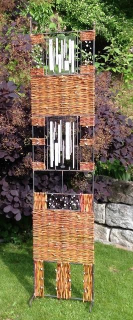 Weiden flecht kurs und glas weidengeflecht seminare flechtkurse und gartengestaltung im glas - Gartendeko aus weidengeflecht ...